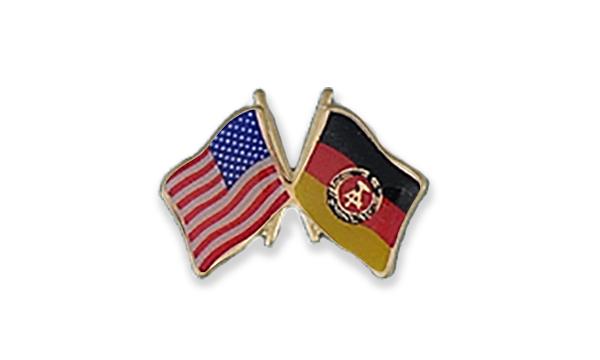 USA / East Germany ALF Pin
